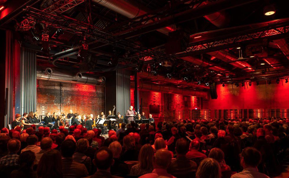 Die Gaechinger Cantorey musiziert in den Wagenhallen, Foto: Holger Schneider